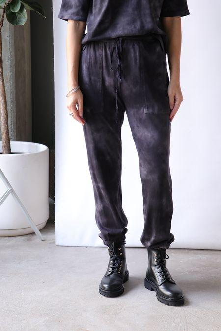 Raquel Allegra Jersey Pants - Black Camo