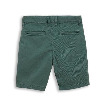 Kids Finger In The Nose Allen Chino Bermuda Shorts - Green Khaki