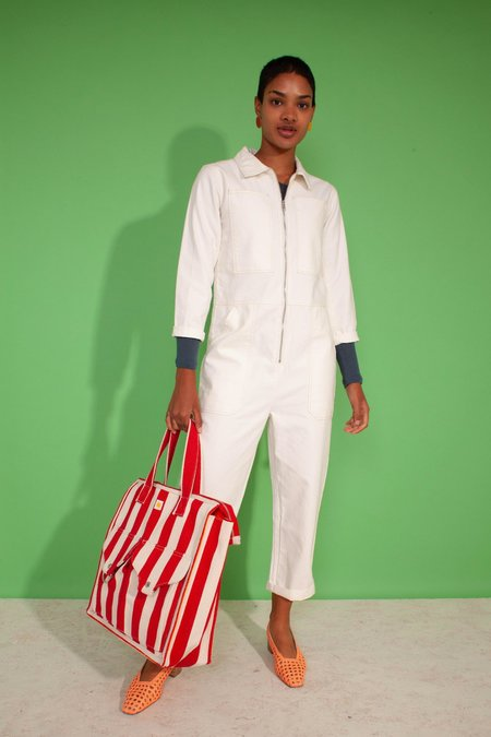 LF Markey Dominic Boilersuit - White