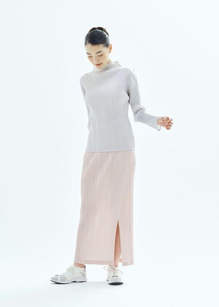 Pleats Please by Issey Miyake Thicker Skirt - Ochre