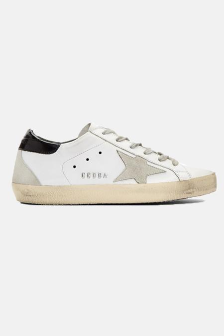 Golden Goose Superstar Sneaker Shoes - White/Black