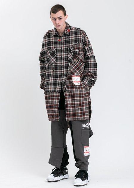Mihara Yasuhiro Original STC Sole Leather Lowcut Sneaker - black
