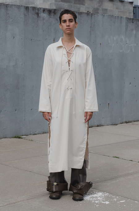 Baserange Bayou Dress - ecru
