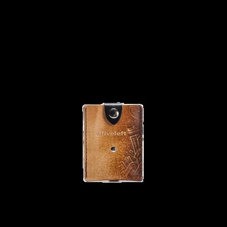 Fiveleft Popup Wallet - Tan