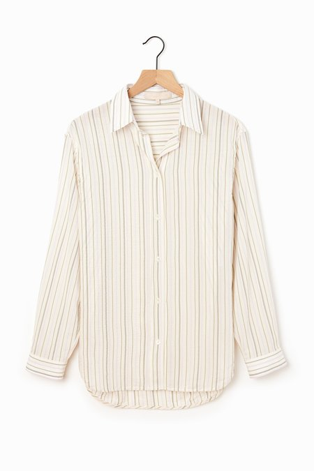 Vanessa Bruno Helianne Shirt - Mauve/Grey