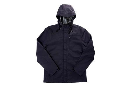 Bridge & Burn Stanton Recycled Rain Jacket - Navy