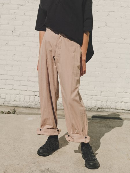 Man-tle R9 Wide Cinched Pant 4 - Pink Sand Bio Wash