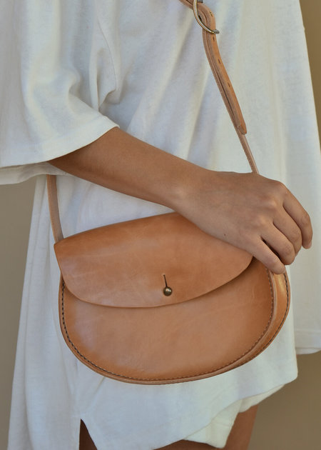 Local Shade Shoulder Bag - Natural Leather