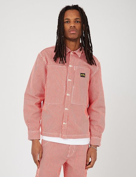 Stan Ray Prison Shirt - Red Hickory