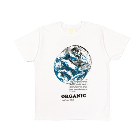 CRTFD Organic Love Tee - white