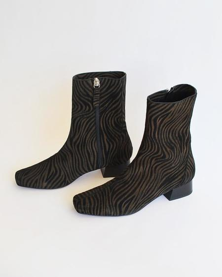 About Arianne Marion Boot - Black Zebra