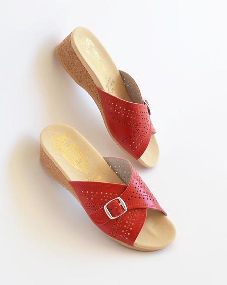 Vamp Shoes Worishofer Slip On shoes - Red