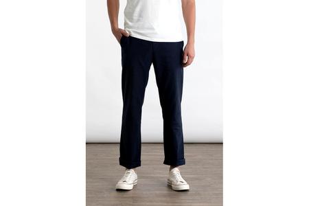 Bridge & Burn Alden pants - Navy Linen