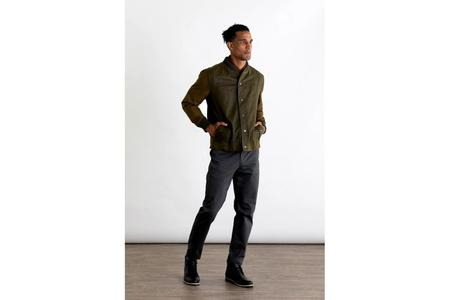 Bridge & Burn Austen jacket - Olive Colorblock