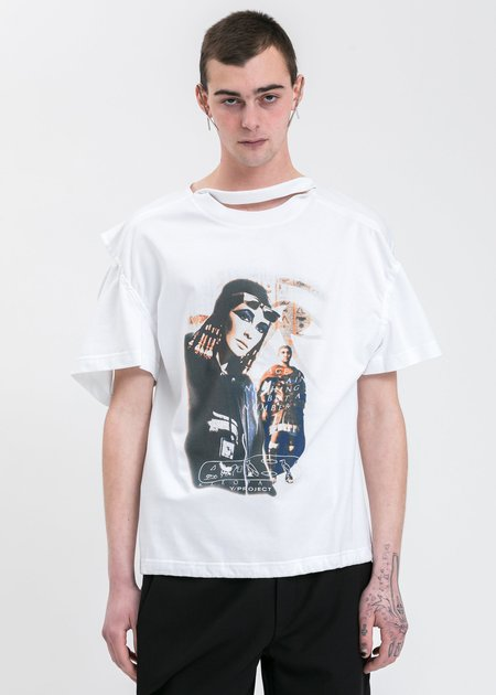 Y/project Convertible Cleo T-Shirt - White