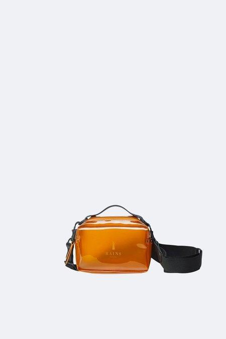 Unisex Rains Micro Box Bag