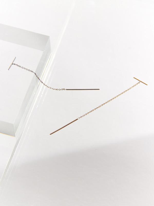 Sarah & Sebastian Line Chain Earring