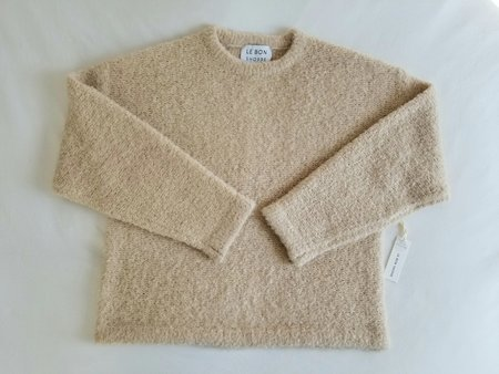 LE BON SHOPPE ENVOE SWEATER - SAND