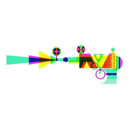 Patrick Hruby Framed Ray Gun