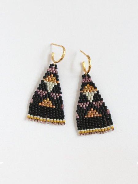 Bluma Project Taos Earring - Black/Neutrals