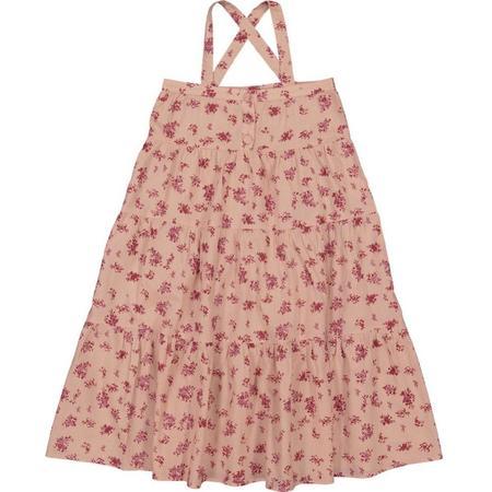 kids louis louise carnette dress - dark pink