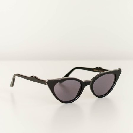 Illesteva Isabella sunglasses - Black/Grey Flat Lenses