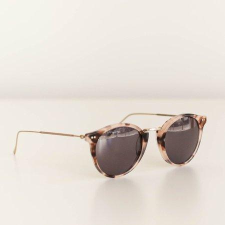 Illesteva Portofino Sunglasses - Blush Tortoise/Grey Lenses