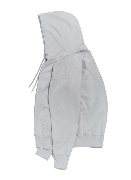 nanamica Hooded Pullover Shirt - Light Gray