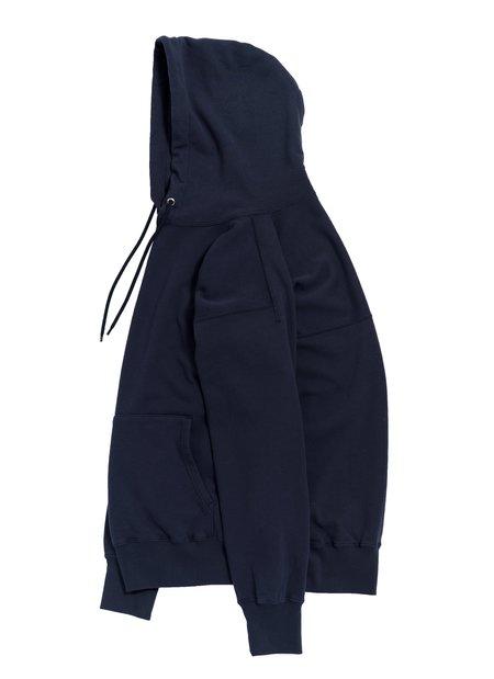 nanamica Hooded Pullover Shirt - Navy