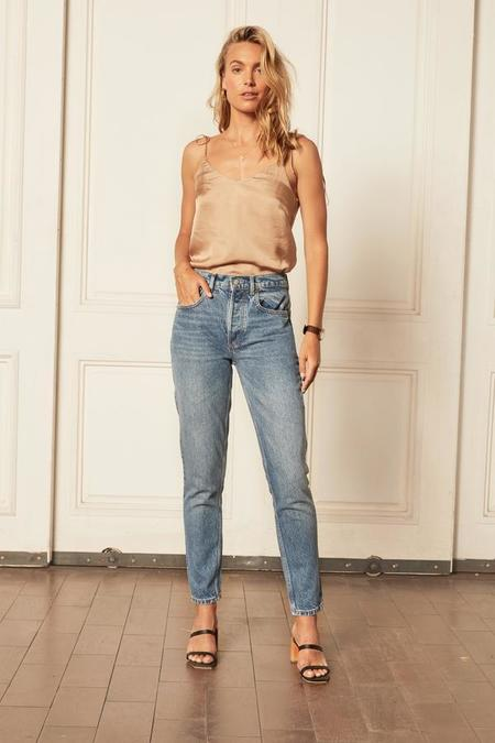 BOYISH The Billy Rigid Skinny Jean - blue