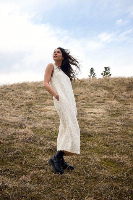 Lauren Manoogian Bend Dress - Crudo