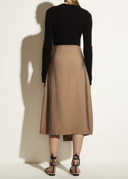 Vince Aysmmetric Wrap Skirt - Myrrh