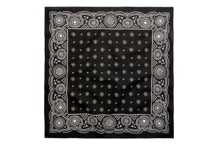 RRL Print Cotton Bandanna - Black