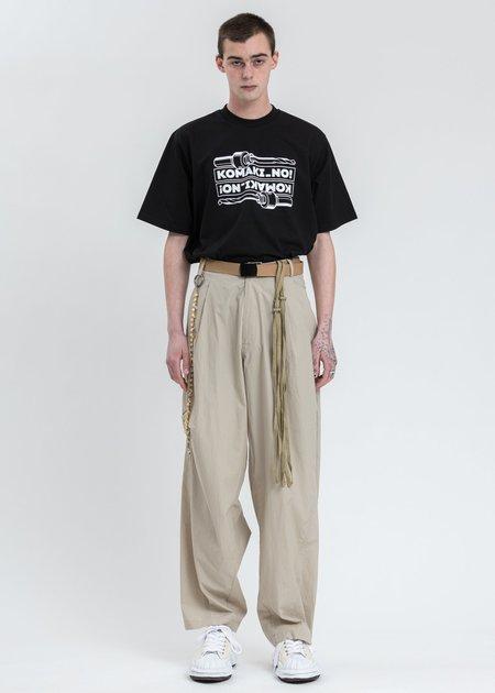 Komakino Drill T-Shirt - Black