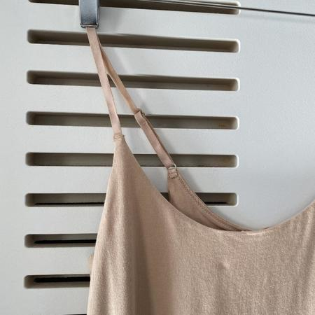 Skin Ceres Organic Cotton Slip Dress - Macadamia Nut