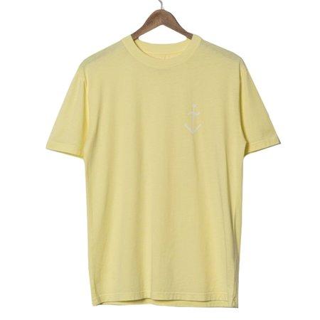 La Paz Dantas Logo T-Shirt - Lemon/Ecru