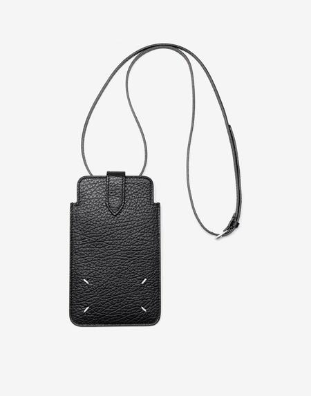 Maison Margiela Cell Phone Pouch - Black