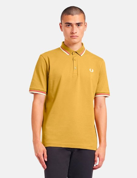Fred Perry Made in Japan Polo Shirt - Mustard Gold
