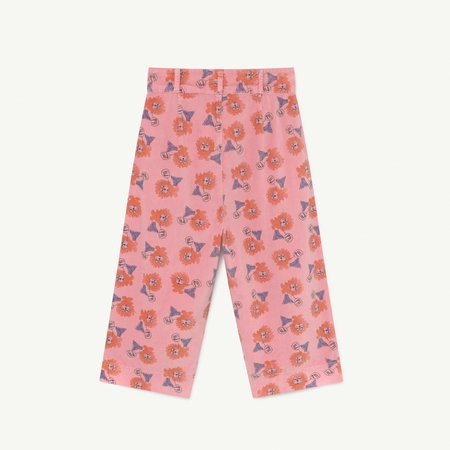 kids The Animals Observatory Emu Trouser - Pink Lions