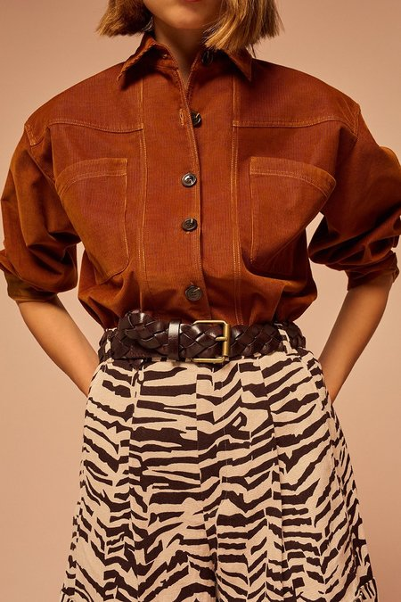 Soeur Mathilde Shirt - Rust