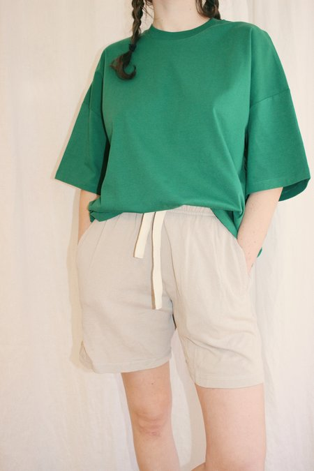 Unisex Jungmaven French Terry Sport Shorts - Canvas