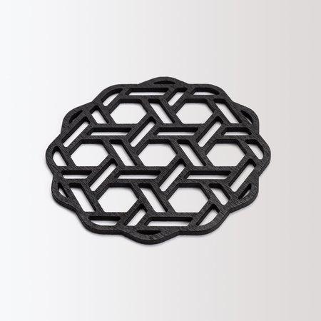 Milan Set of 4 Coasters - Black Walnut