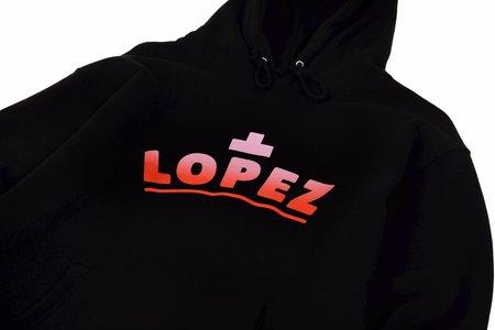 Lopez Sunrise Pullover Hoodie - Black