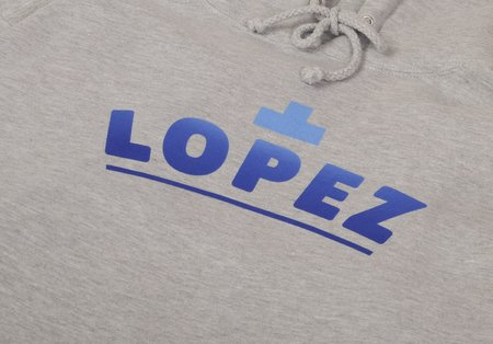 Lopez Sunrise Pullover Hoodie - Heather Grey