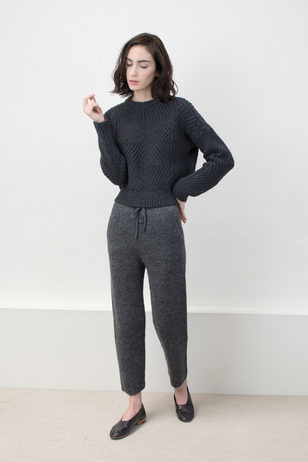 Micaela Greg Charcoal Bevel Sweater (*NEW COLOR*)
