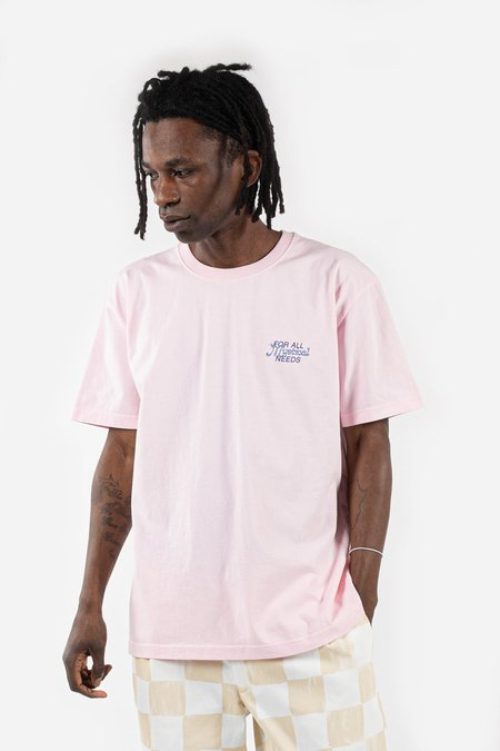 Reception Clothing Slow Imports SS Tee - Pink