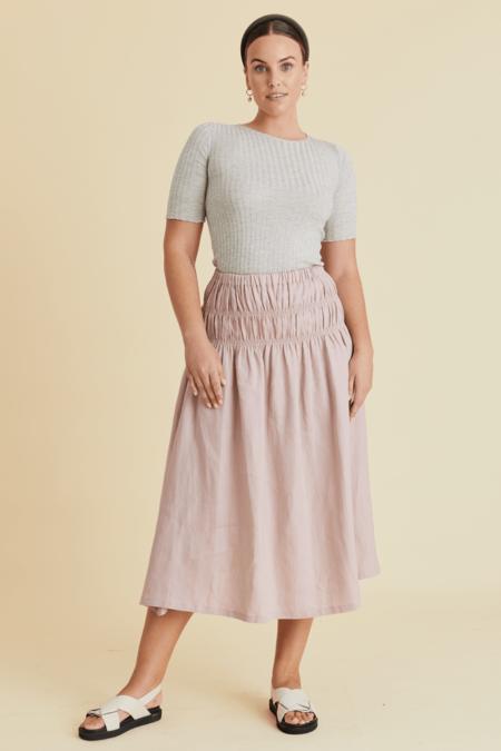 hej hej Barclay Knit sweater - Light Grey