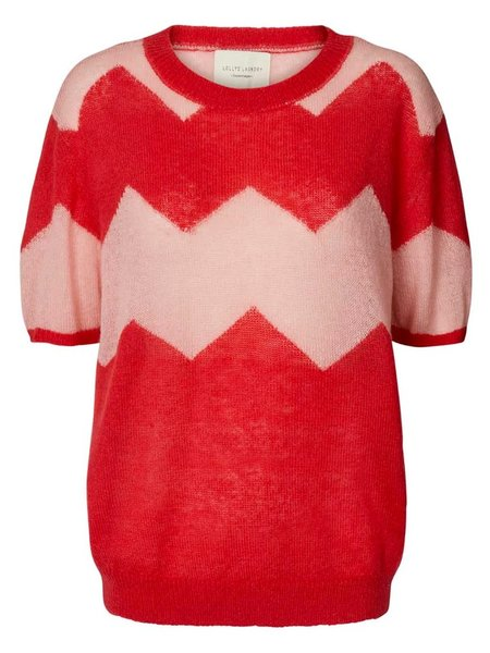 Lolly's Laundry Anton Sweater - Red/Pink