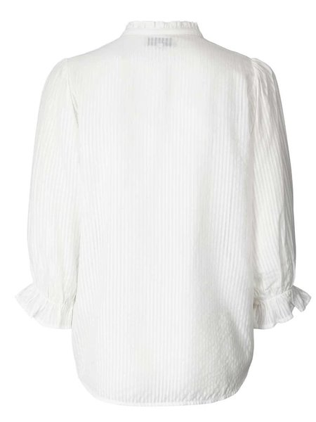 Lolly's Laundry Huxi Blouse - White