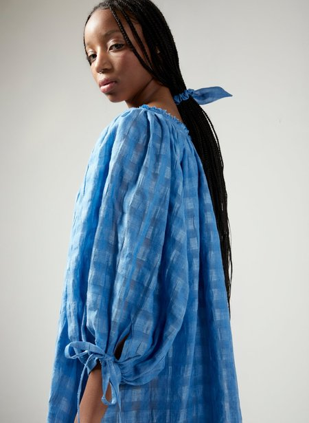 Eliza Faulkner Madlyn Dress - Blue Gingham